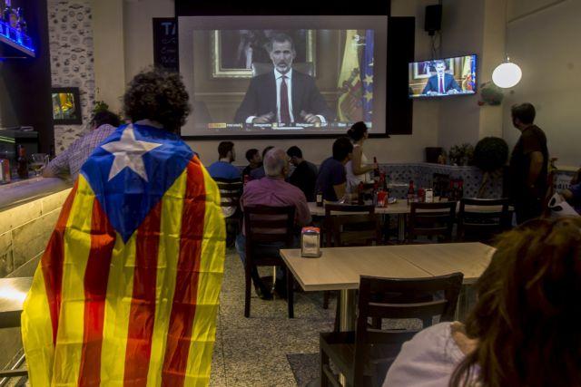 Καταλωνία: Πιο κοντά στην ανακήρυξη ανεξαρτησίας μετά τις επικρίσεις Φίλιππου   tovima.gr