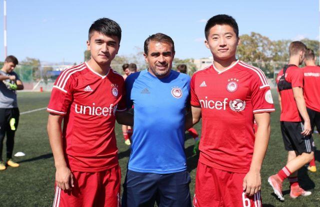 Δυο Κινέζοι στις ακαδημίες του Ολυμπιακού | tovima.gr