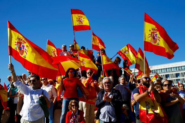 Ραχόι: Θα φτάσει μέχρι και στην καθαίρεση της καταλανικής κυβέρνησης | tovima.gr