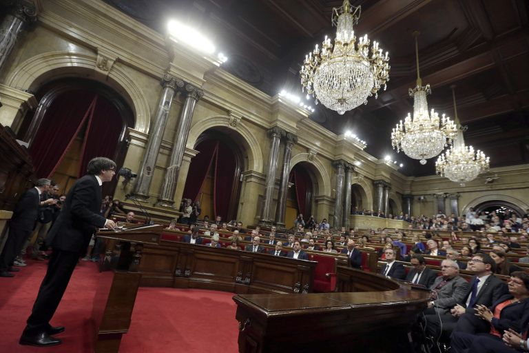 Πουτζδεμόν: Θα σεβαστώ την απόφαση των Καταλανών για ανεξαρτησία | tovima.gr
