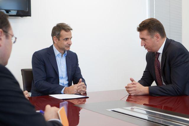 Οι διακρατικές σχέσεις στη συνάντηση Μητσοτάκη-Σέρβου πρέσβη   tovima.gr