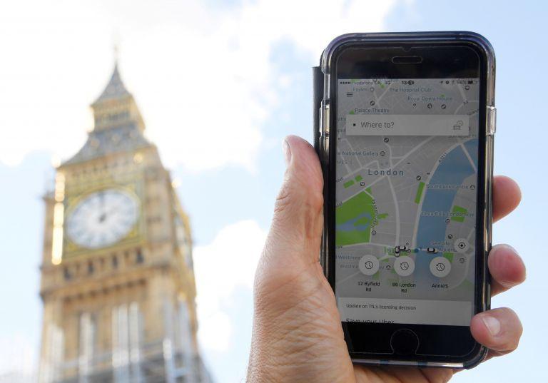 Βρετανία: Στο δικαστήριο η Uber για την ανάκληση αφαίρεσης της άδειας | tovima.gr
