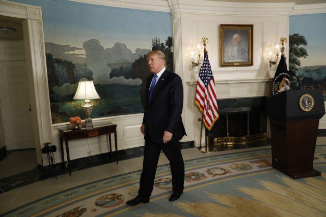 Τραμπ:  Δεν αποκλείεται νέα συμφωνία για το πυρηνικό πρόγραμμα του Ιράν | tovima.gr