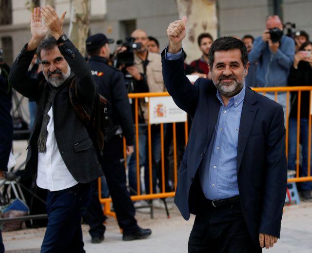 Καταλωνία: Σε μαζικές διαδηλώσεις μετά τη σύλληψη δύο αυτονομιστών | tovima.gr