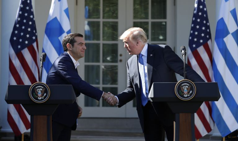 Με τον αντιπρόεδρο των ΗΠΑ Μ.Πενς συναντήθηκε ο Αλ. Τσίπρας | tovima.gr