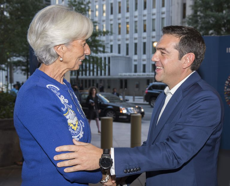 IMF: Greek debt relief precondition for standby credit line | tovima.gr