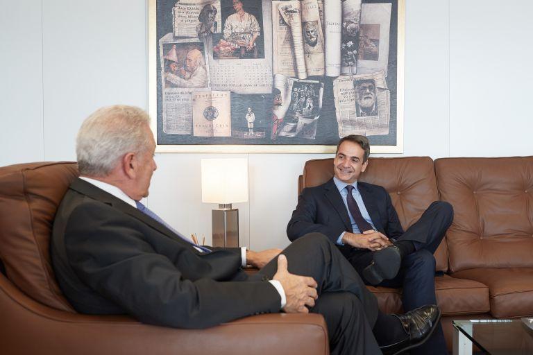 Το κυβερνητικό σχέδιο της ΝΔ παρουσίασε ο Κ. Μητσοτάκης στις Βρυξέλλες | tovima.gr