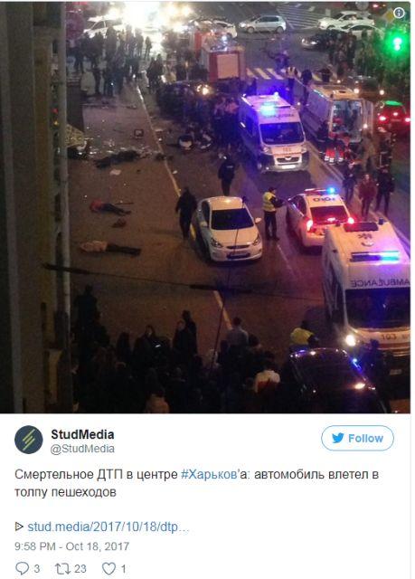 Ουκρανία: Όχημα έπεσε πάνω σε πεζούς – Τουλάχιστον έξι νεκροί | tovima.gr