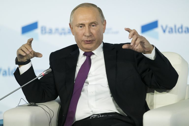 O Πούτιν δεν βλέπει πρόοδο στις σχέσεις με τη Δύση | tovima.gr