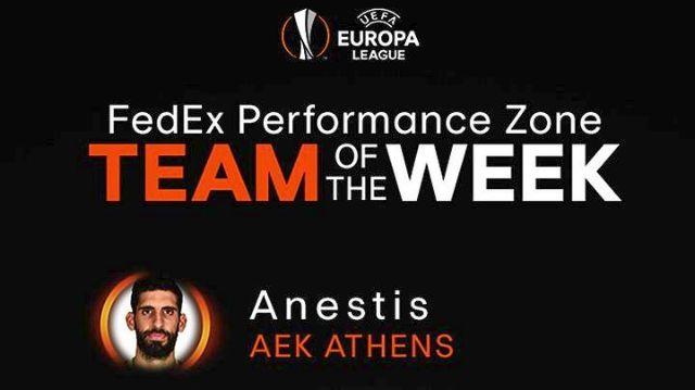 Ο Ανέστης στην τοπ 11αδα του Europa League | tovima.gr