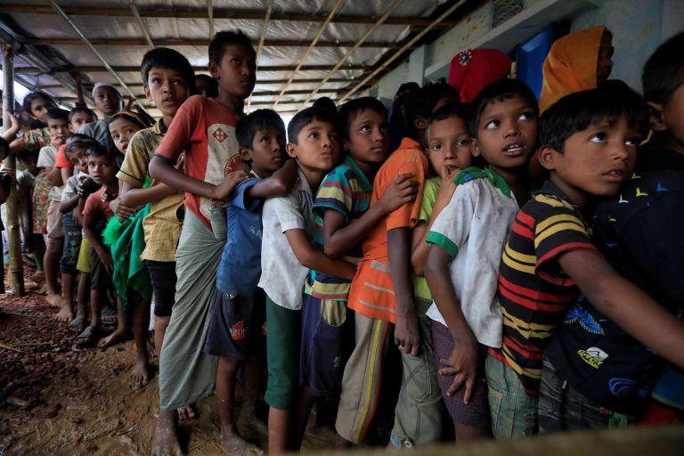 Πάνω από χίλια προσφυγόπουλα Ροχίνγκια περνούν καθημερινά στο Μπαγκλαντές   tovima.gr