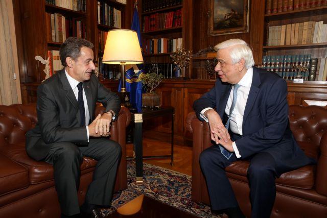 Για τις αλλαγές στην ΕΕ συζήτησαν Σαρκοζί-Παυλόπουλος | tovima.gr