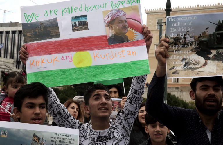 Θέσεις των κούρδων μαχητών πλήττουν οι ιρακινές ένοπλες δυνάμεις   tovima.gr