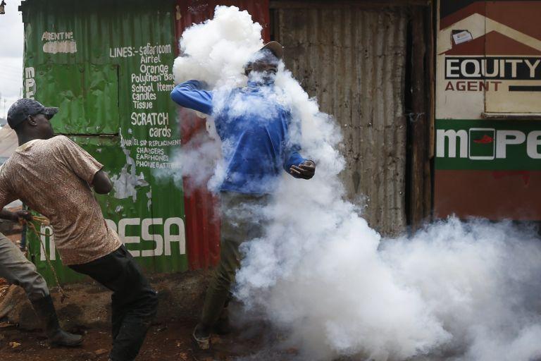 Πεδίο ταραχών η Κένυα, τουλάχιστον τρεις νεκροί   tovima.gr