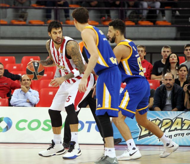 Euroleague: Κίμκι – Ολυμπιακός 82 – 54, 40΄ | tovima.gr