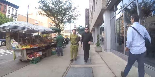 Ο «Κιμ Γιονγκ Ουν» … βολτάρει στη Νέα Υόρκη [Βίντεο] | tovima.gr