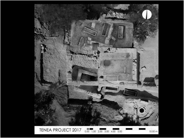 Αρχαία Τενέα – Χιλιομόδι Κορινθίας: Βρέθηκαν κατασκευές που ανήκουν σε κτιριακές εγκαταστάσεις | tovima.gr