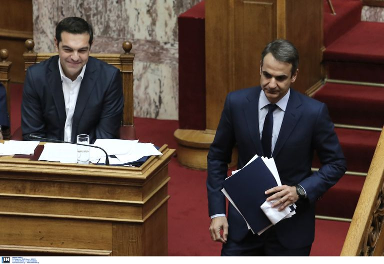 New Democracy leads Syriza by 8.5 percentage points in new poll | tovima.gr