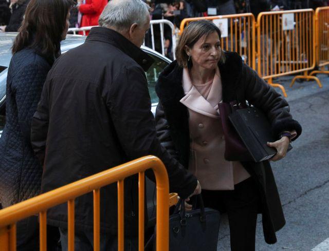 Καταλωνία: Ενώπιον του δικαστή η πρόεδρος του κοινοβουλίου | tovima.gr
