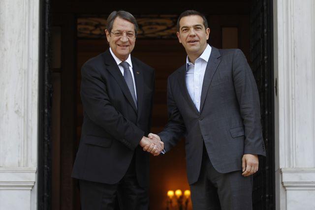 Συγχαρητήρια Αναστασιάδη σε Τσίπρα για τη συμφωνία με πΓΔΜ | tovima.gr