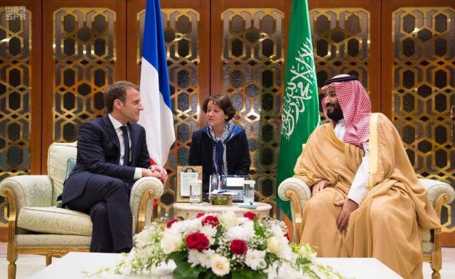 Επίσκεψη αστραπή του Μακρόν στην Σαουδική Αραβία | tovima.gr
