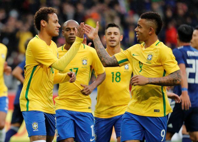 Διεθνή φιλικά: Νίκη της Βραζιλίας επί της Ιαπωνίας | tovima.gr