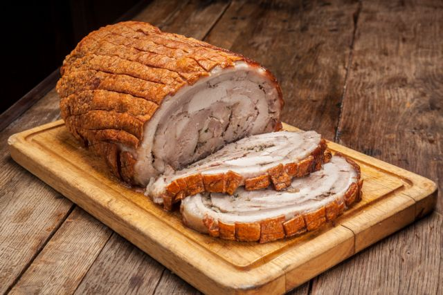 Χοιρινό στον φούρνο με τραγανό δέρμα | tovima.gr