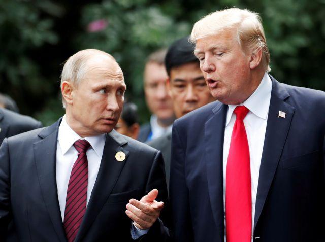 Εφ' όλης της ύλης τηλεφωνική επικοινωνία Τραμπ – Πούτιν | tovima.gr