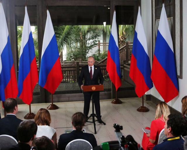 Πούτιν: «Ανοησίες» τα περί ρωσικής ανάμειξης στις αμερικανικές εκλογές | tovima.gr