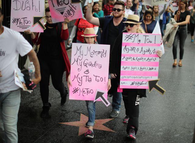 Διαδήλωση στο Χόλιγουντ κατά της σεξουαλικής κακοποίησης | tovima.gr