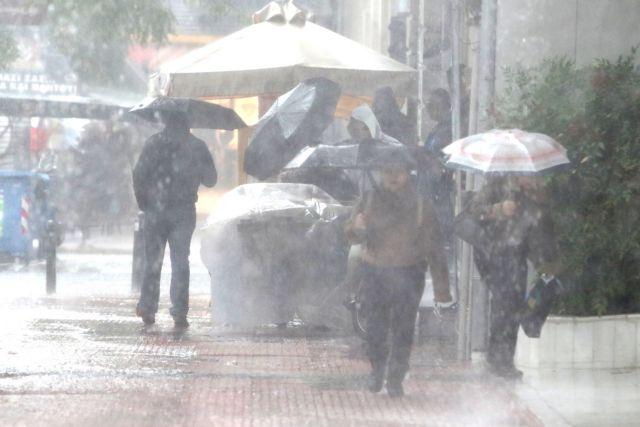Βροχές και ισχυρές καταιγίδες και τη Δευτέρα και Τρίτη | tovima.gr