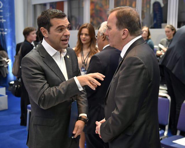 Τσίπρας στη Συνοδο Κορυφής: Προστατευτικό πλαίσιο και για τις μη τυπικές μορφές εργασίας | tovima.gr
