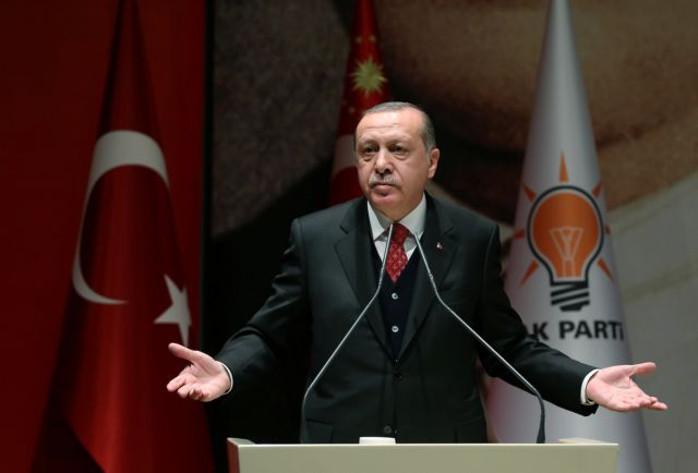 Ερντογάν: Δεν υπάρχουν επαφές με τη Συρία | tovima.gr
