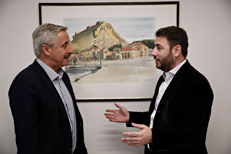 Κεντροαριστερά: Συνάντηση Ανδρουλάκη – Μανιάτη εν όψει β' γύρου | tovima.gr