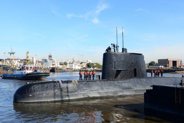 Αργεντινή: Η κακοκαιρία δυσχεραίνει τις έρευνες για το υποβρύχιο | tovima.gr
