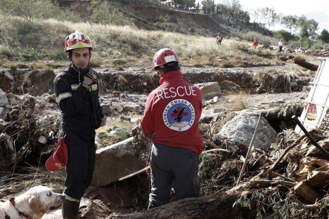 Οι αρχές αναζητούν ακόμη δύο αγνοούμενους στη Μάνδρα | tovima.gr