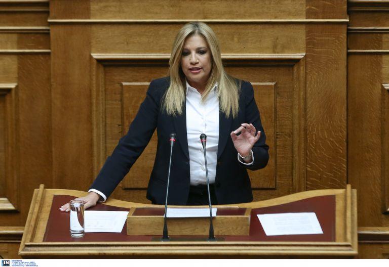 Γεννηματά: Πλήγμα για τα ελληνικά συμφέροντα η επίσκεψη Ερντογάν | tovima.gr