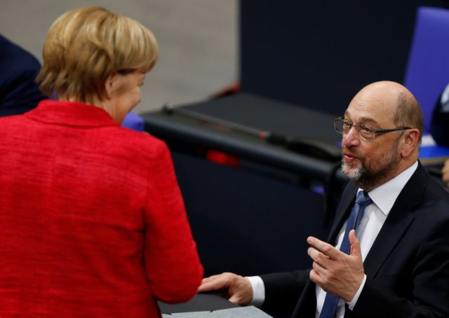Σούλτς: Η Ευρώπη χρειάζεται έναν προϋπολογισμό της Ευρωζώνης | tovima.gr