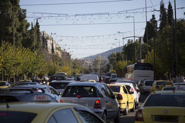 Κυκλοφοριακή συμφόρηση στη λεωφόρο Κηφισού | tovima.gr