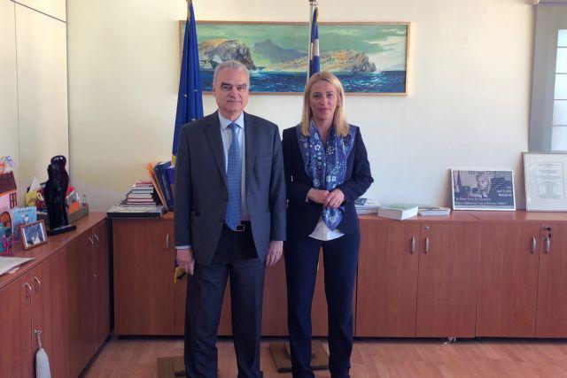 Συνάντηση Δούρου με κλιμάκιο του Εθνικού Μετσόβιου Πολυτεχνείου | tovima.gr