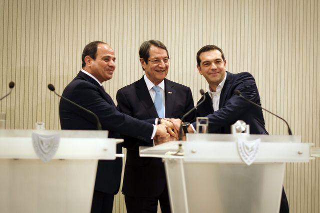 Τσίπρας: Η τριμερής πυλώνας σταθερότητας στη Ν.Α Μεσόγειο | tovima.gr