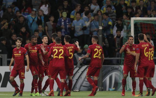 Europa League: Πρόκριση η Βιγιαρεάλ, Λιόν, Αταλάντα και Μπράγκα   tovima.gr