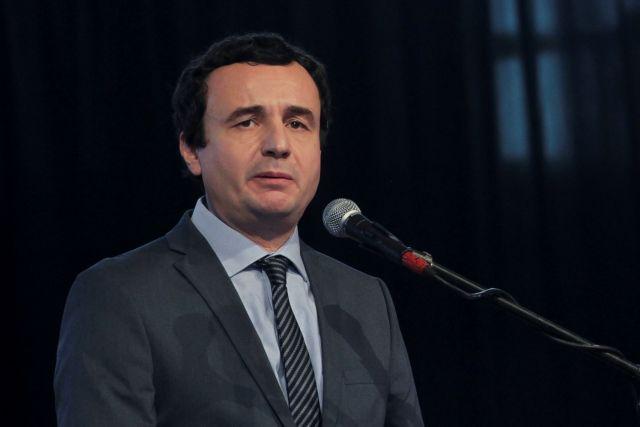 Κόσοβο: Συνελήφθη ο εθνικιστής βουλευτής Άλμπιν Κούρτι   tovima.gr