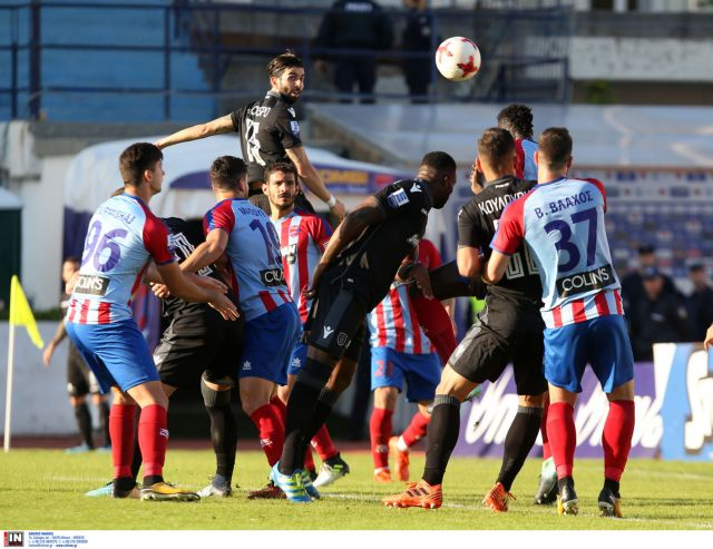 Super League: Ο ΠΑΟΚ ισοφάρισε στο 93′ τον Πανιώνιο σε 2-2 | tovima.gr