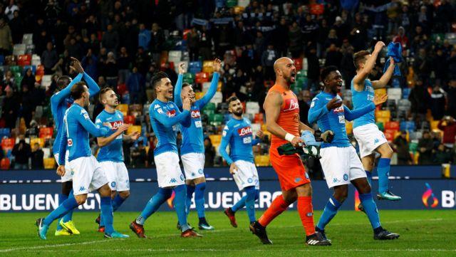 Campionato: Νάπολι πέρασε δύσκολα από το Φρίουλι, 1-0 την Ουντινέζε | tovima.gr