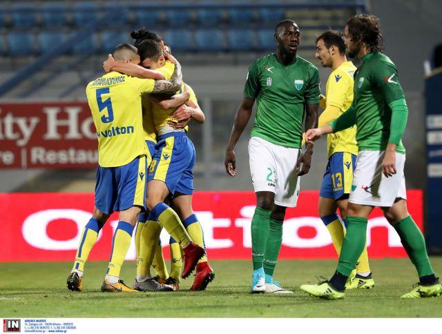 Super League: Εύκολη νίκη του Αστέρα επί του Λεβαδειακού με 2-0   tovima.gr