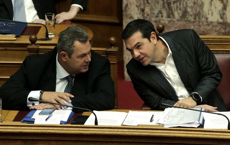 ΝΔ: Πολιτικοί απατεώνες οι Τσίπρας – Καμμένος | tovima.gr