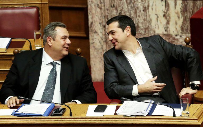 Προς βελούδινο διαζύγιο ή προσυμφωνημένο παιχνίδι Τσίπρα-Καμμένου; | tovima.gr