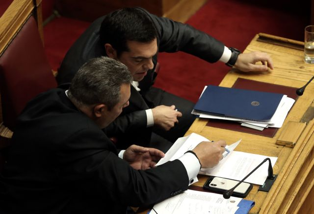 Αλλα ο Τσίπρας κι άλλα ο Καμμένος | tovima.gr