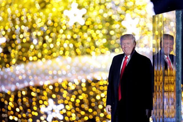 Ο Τραμπ τραγουδάει το «Αll I want for Christmas» [Βίντεο] | tovima.gr